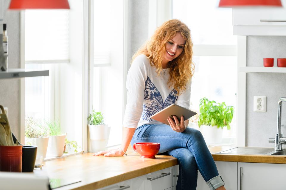 Premium Wifi - God trådløsdekning i hele boligen