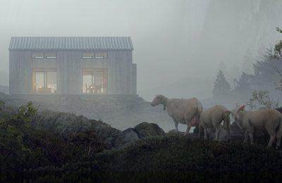 Lys og varmestyring på hytta