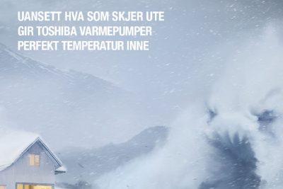 Varmepumpe i nordisk vinterklima