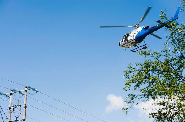Helikopter linjebefaring