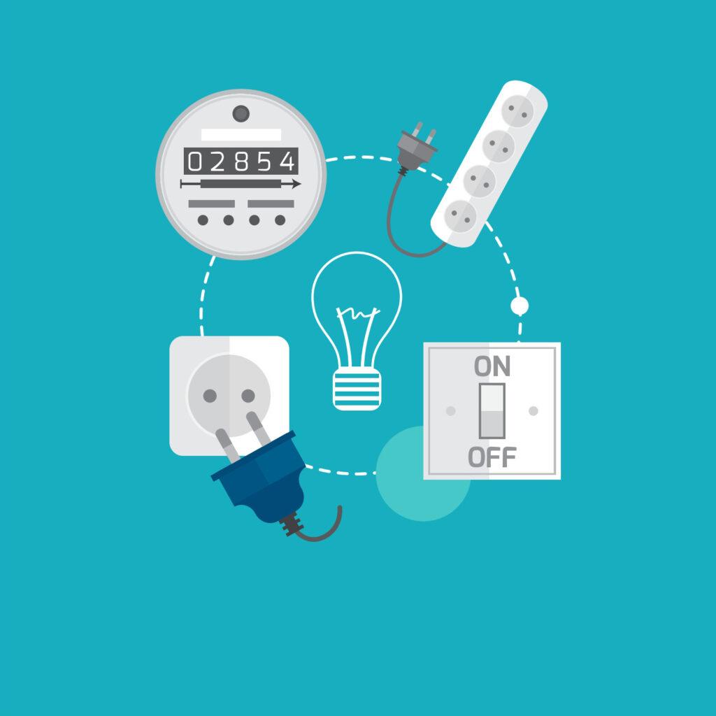 Spar strøm